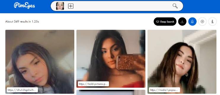 buscador de fotos de personas
